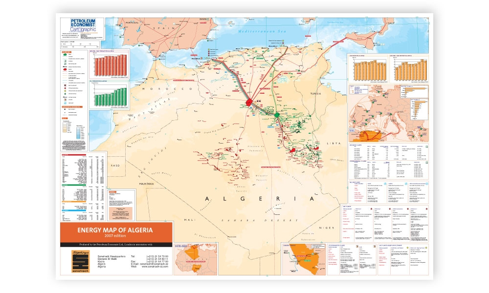 Energy Map of Algeria | Petroleum Economist Store on map of yemen, map of middle east, map of mali, map of syria, map of laos, map of algiers, map lebanon, map of sudan, map of gibraltar, map of bahrain, map of angola, map of iraq, map of europe, map of tunisia, map of switzerland, map of africa, map of central america, map of great britain, map of libya, map of morocco,