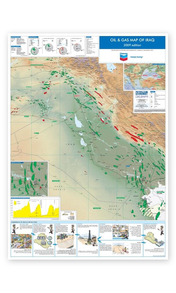 Oil & Gas Map of Iraq | Petroleum Economist Store