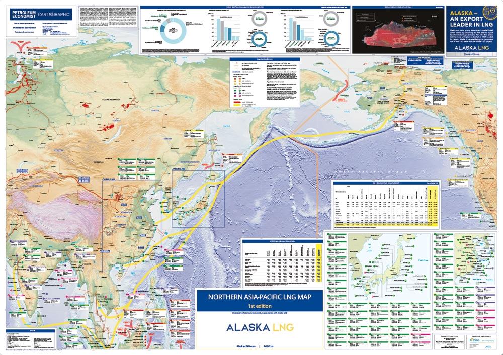 Northern Asia-Pacific LNG Map | Petroleum Economist Store
